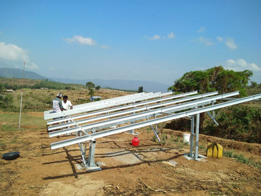 10 KW Solar Structure