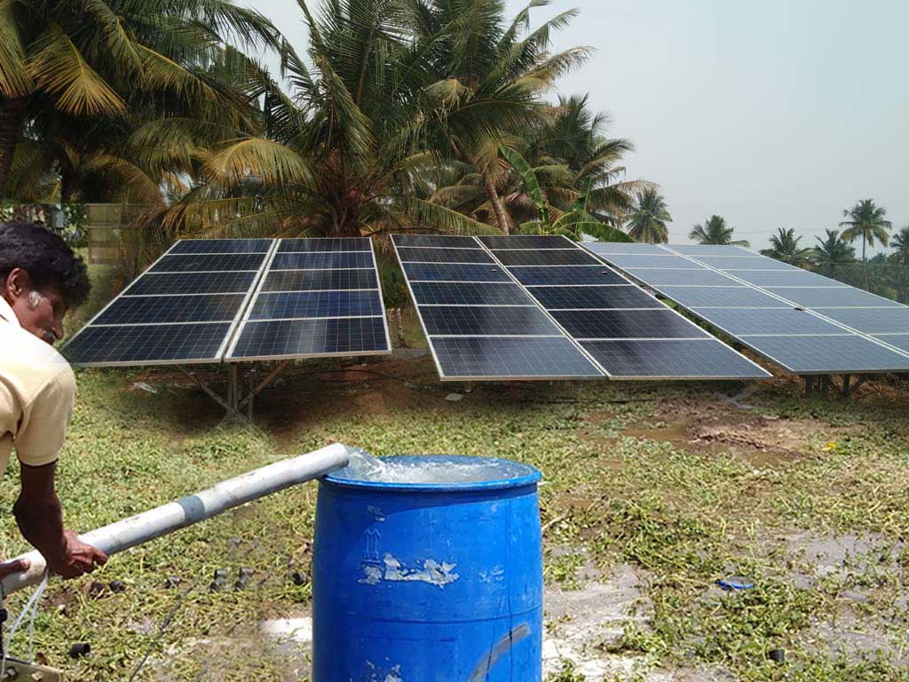 10 HP Solar Water Pumping